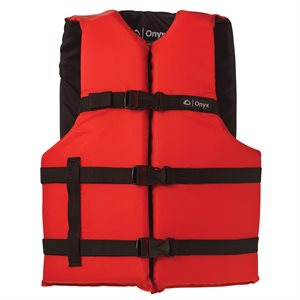 Adult Oversize General Purpose Vest, Red