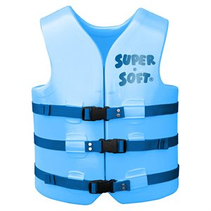 Super Soft Safety Vest, Blue, Adult Extra Large