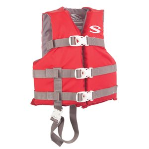 Child's Type III Vest 30-50 lbs., Red
