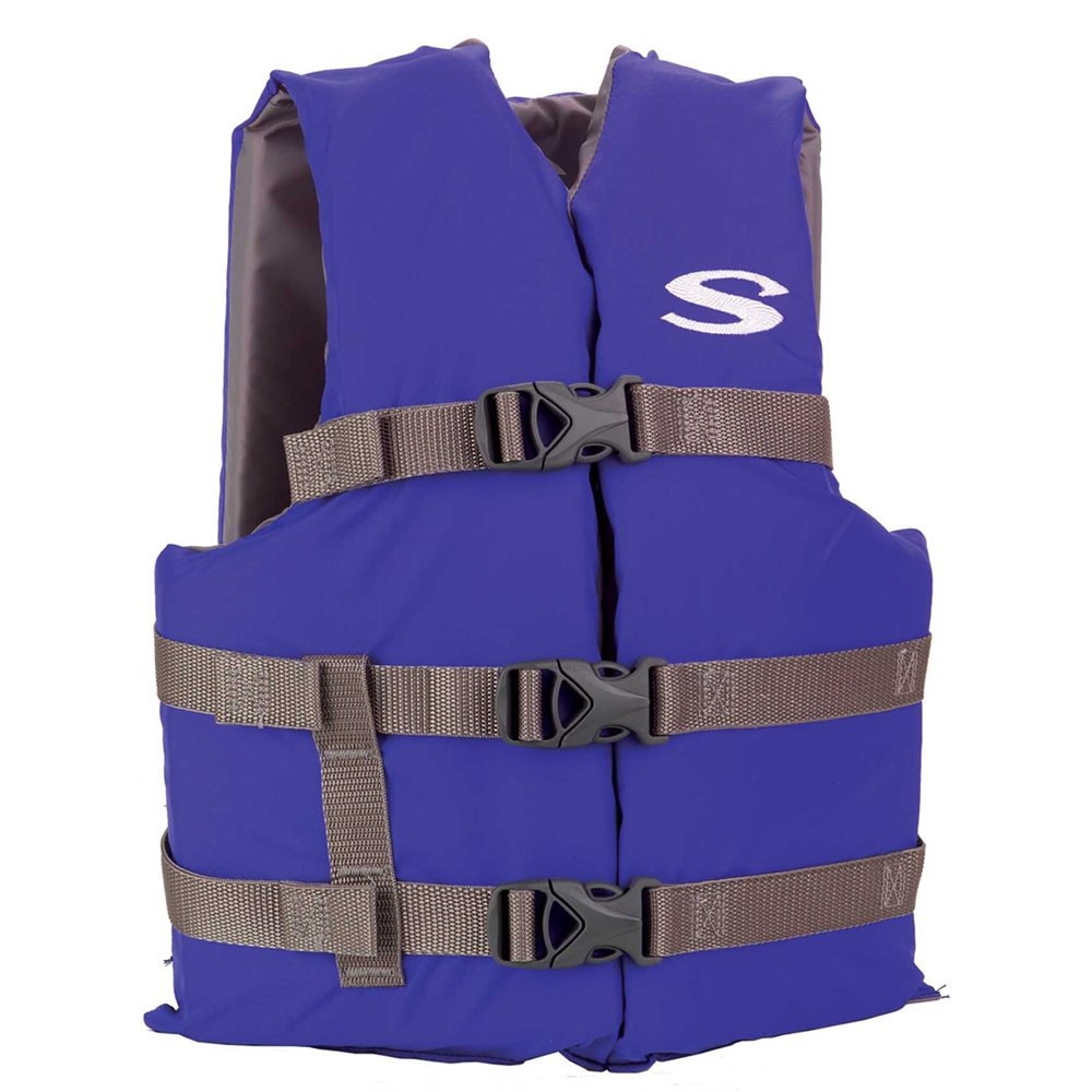 Youth Type III Vest 50-90 lbs., Blue