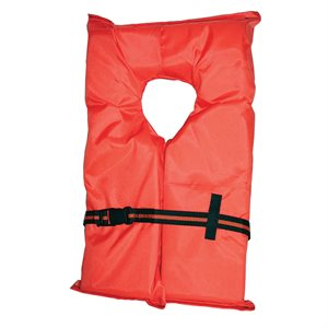 Type II Life Jackets, Adult (90+ lbs)