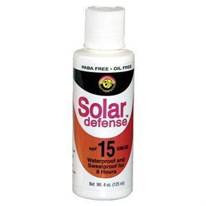 Solar Defense Sunblock 4 ounce, SPF 15