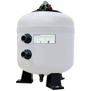"Hayward HCF302T 30"" Commercial Sand Filter, 98 GPM, 2"" Bulkhead Connection"
