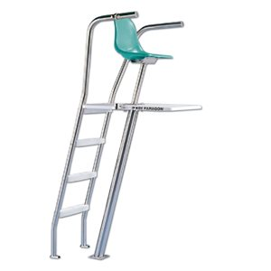 paragon paraflyte ladder at rear lifeguard chair ultraflyte