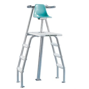 paragon paraflyte ladder at sides lifeguard chair