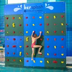 Kersplash Climbing Wall, Color, 12 Ft Tall, 4 Ft Wide