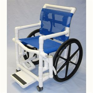 AQUA CREEK POOL ACCESS CHAIR 18 IN, MESH SEAT