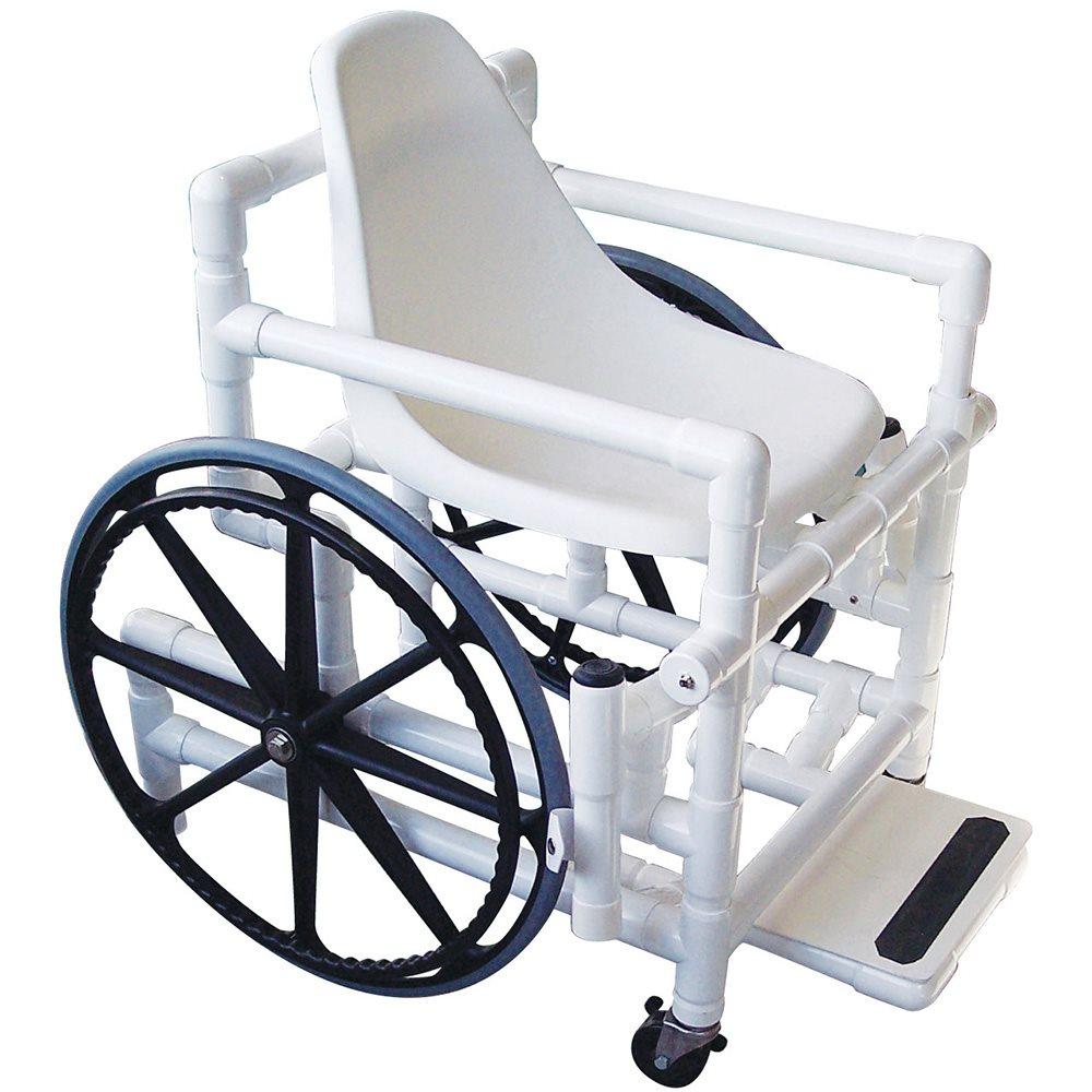 Aqua Creek Pool Access Chair 18 In Plastic Seat