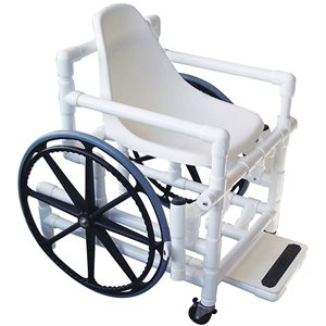 AQUA CREEK POOL ACCESS CHAIR 18 IN, PLASTIC SEAT