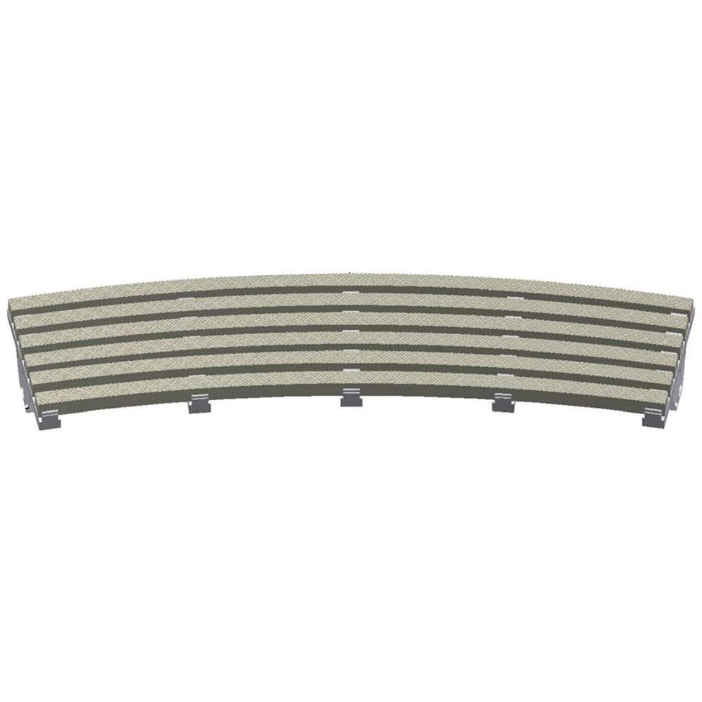 Lawson Aquatics Pvc Grating Parallel Radius 16 Inch