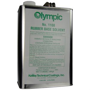 Olympic Solvent GALLON, Rubber Base