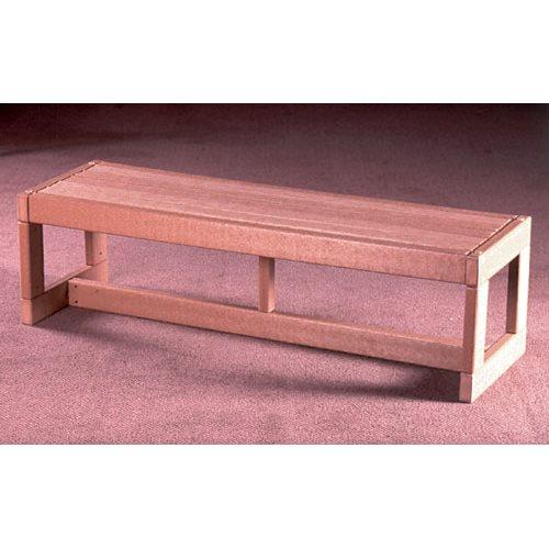Swell Durawood Aisle Maker Bench 4 Feet Lamtechconsult Wood Chair Design Ideas Lamtechconsultcom