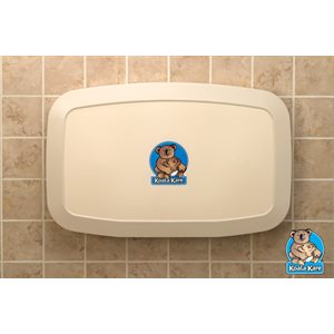 Koala KB200 Changing Station - Horizontal, Cream