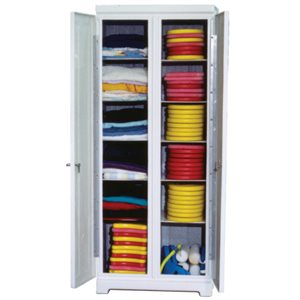 Fiberglass Storage Locker, Gym Locker