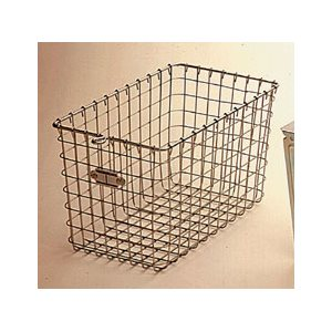Rack Basket - All Plated Wire Construction, 9""