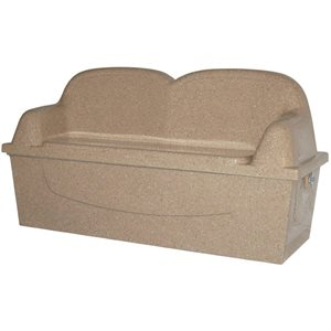 Waterside Lounger, Oat