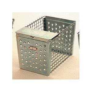 Rack Basket - Perforated Style with Pilfer Guard, 12""