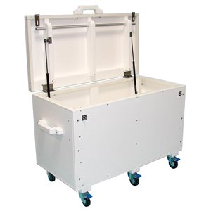 Tailwind Deck Storage Box with Upgraded Casters, 4 Ft.