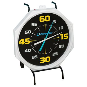 Competitor 31 inch Pace Clock, Electric, Black Face