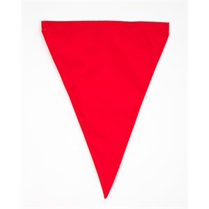 Competitor Backstroke Flag, 12 inch x 18 inch, Red