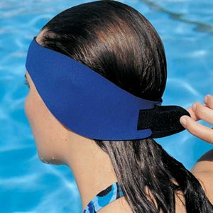 Water Gear Ear Wrap, Adult, Blue