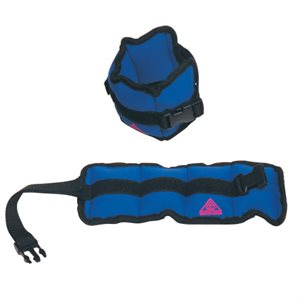 Water Gear Ankle Weights 3 Lb Pair (Blue)