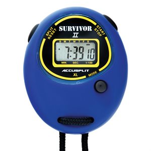 Accusplit Survivor II Stopwatch, Blue
