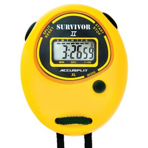 Accusplit Survivor II Stopwatch, Yellow