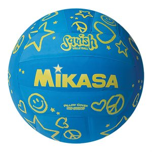 Mikasa Squish Series Water Volleyball, Blue