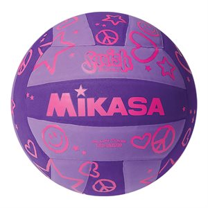 Mikasa Squish Series Water Volleyball, Purple