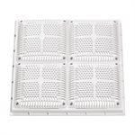 "Hayward WG1033HF2PAK2 Frame and Grate, 18"" Square, High Flow, Pack of 2"