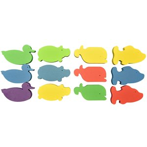 Foam Animal Bricks (Pack of 12)