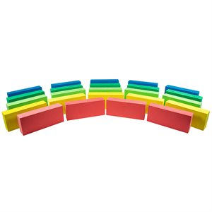 Foam Bricks, (Pack of 24)