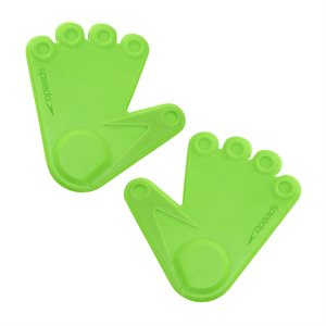 Speedo Pool Prints Hands, Pair, Green