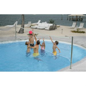 Stainless DeckVolly Water Volleyball Set