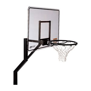Rock Solid Commercial Swim N Dunk Basketball, Extended Reach, Without Anchor
