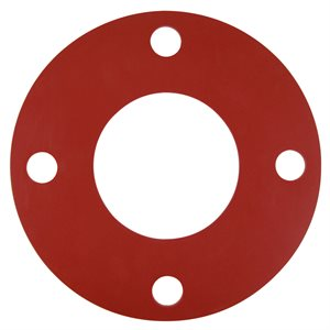 Valve / Flange Gasket, Red Rubber, 1.5""