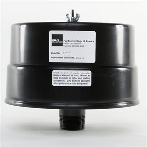 Inlet Filter / Silencer for 1.4 / 2.7HP Fuji Air Blowers