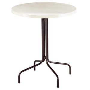 "Texacraft Bar Table 36"", Fiberglass Top with Umbrella Hole"