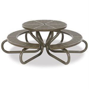 Picnic Table, 6 Leg, Diamond Pattern