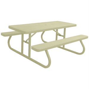 Premier Polysteel 6 ft Rectangular Table, Free Standing