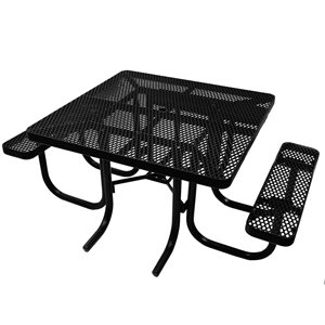 Premier Polysteel 4ft × 5ft Table ADA Accessible Rectangular Table, Free Standing
