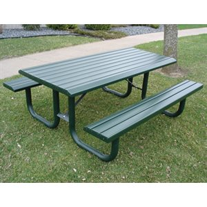Artura Designs Park Series Picnic Table 6'