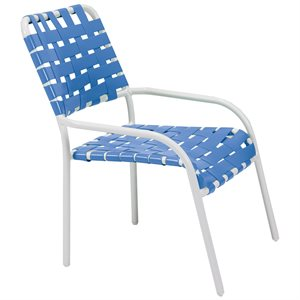 Oasis Crossweave Stacking Chaise Chair