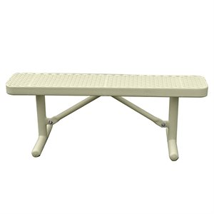 Premier Polysteel Champion Bench, 4 ft, without Backrest