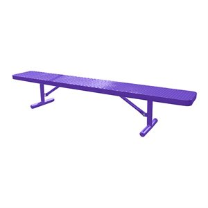 Premier Polysteel Champion Supreme Bench, 10 ft, without Backrest