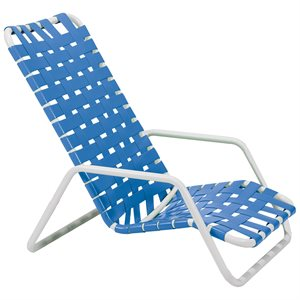 Oasis Crossweave High Back Nesting Sand Chair