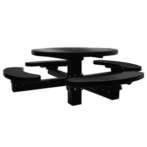Premier Polysteel 4 ft Round Table, Multi Pedestal, Direct Bury