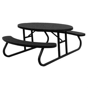 Premier Polysteel 6 ft Oval Table, Free Standing
