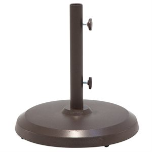 Cast Aluminum Umbrella Base, 50 LB